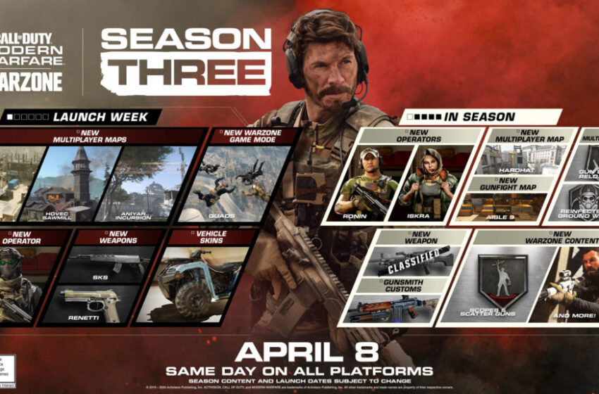 Call Of Duty: Modern Warfare – Sezon trzeci wystartował