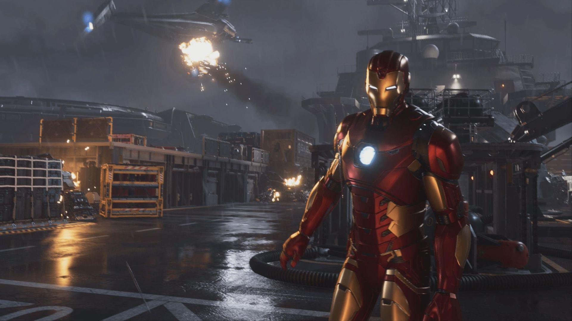 Marvel Avengers iron Man game