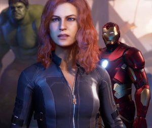 Marvel Avengers Hulk, czarna wdowa, Iron Man