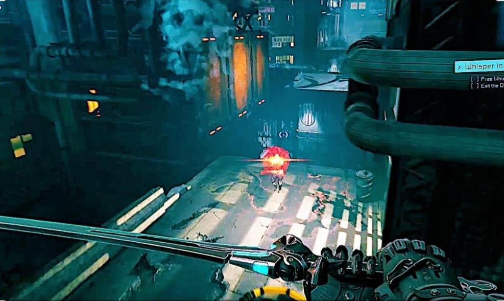 Ghostrunner broń walka